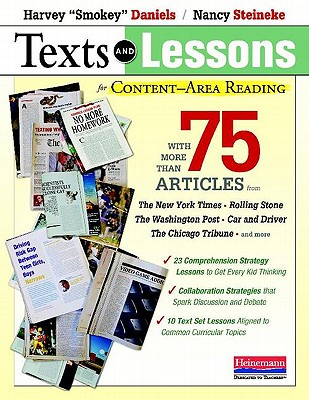 Texts and Lessons for Content-Area Reading By Daniels, Harvey/ Steineke, Nancy